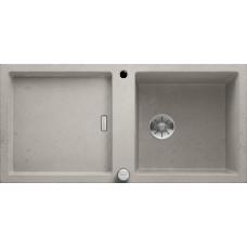 "Кухонная мойка Blanco Adon Xl 6 S Silgranit PuraDur стиль ""бетон"" с кл.-авт. InFino"