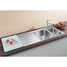 Кухонная мойка Blanco AXIS III 6S-IF (чаша слева) нерж.сталь зеркальная полировка