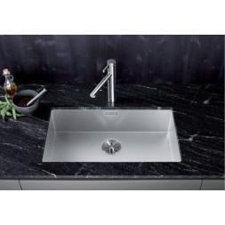 Кухонная мойка Blanco ZEROX 700-U нерж.сталь Durinox® с отв. арм. InFino®