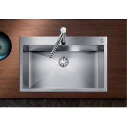 Кухонная мойка Blanco Zerox 700-If/А Нержавеющая сталь (сталь с зеркальной полировкой)