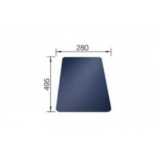 Разделочная доска BLANCO безопасное стекло (280x495)
