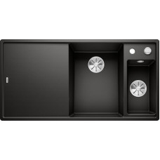 Кухонная мойка Blanco Axia III 6 S доска стекло чаша справа черный
