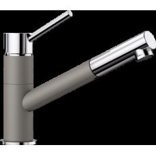 Смеситель для кухни Blanco KANO-S серый беж/хром – артикул 525042