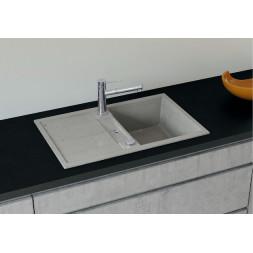 "BLANCO METRA 45S SILGRANIT PuraDur стиль ""бетон"" с клапаном-автоматом"