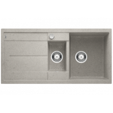 "BLANCO METRA 6 S SILGRANIT PuraDur стиль ""бетон"" с клапаном-автоматом"