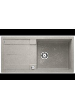 "BLANCO METRA XL 6 S SILGRANIT стиль ""бетон"" с клапаном-автоматом"