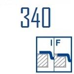 Мойки BLANCO ANDANO 340-IF | Нержавеющая сталь