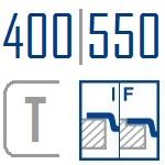 Мойки BLANCO CLARON 400/550-T-IF | Нержавеющая сталь