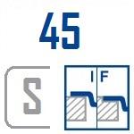 Мойки BLANCO FLOW 45 S-IF | Нержавеющая сталь