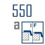 Мойки BLANCO CLARON 550-IF A   Нержавеющая сталь