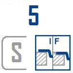 Мойки BLANCO FLOW 5 S-IF | Нержавеющая сталь