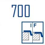 Мойки BLANCO ANDANO 700-IF | Нержавеющая сталь