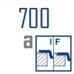 Мойки BLANCO ANDANO 700-IF A | Нержавеющая сталь