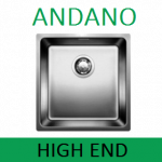 Мойки BLANCO ANDANO | Нержавейка