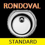 Мойки BLANCO RONDOVAL Steel | Нержавейка