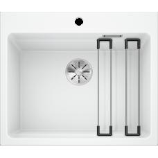 Мойка для кухни Blanco ETAGON 500-U SILGRANIT PuraDur (белый)