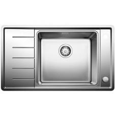 Мойка для кухни Blanco ANDANO XL 6 S-IF Compact нерж.сталь с зеркальной полировкой чаша слева