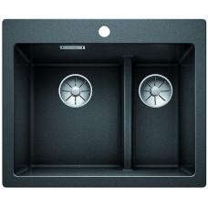 Кухонная мойка Blanco Pleon 6 Split Silgranit PuraDur (антрацит)