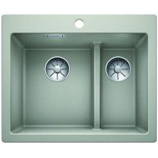 Кухонная мойка Blanco Pleon 6 Split Silgranit PuraDur (жемчужный)