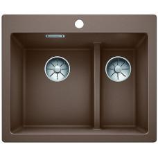 Кухонная мойка Blanco Pleon 6 Split Silgranit PuraDur (мускат)