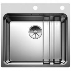 Кухонная мойка Blanco ETAGON 500 - IF/A с клапаном-автоматом нерж.сталь зеркальная полировка