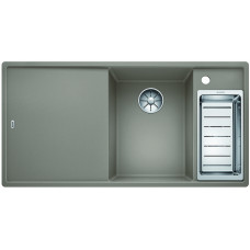 Мойка для кухни Blanco Axia III 6 S Silgranit PuraDur (серый беж)