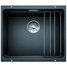 Кухонная мойка Blanco Etagon 500-U Silgranit PuraDur (антрацит)