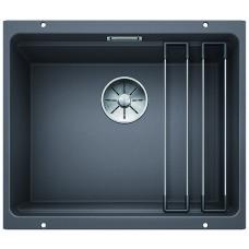 Мойка для кухни Blanco ETAGON 500-U SILGRANIT PuraDur (темная скала)