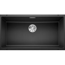 Мойка для кухни Blanco SUBLINE 800-U SILGRANIT антрацит с клапаном-автоматом