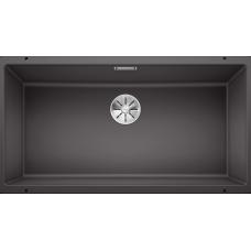 Мойка для кухни Blanco SUBLINE 800-U SILGRANIT темная скала с клапаном-автоматом