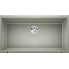 Мойка для кухни Blanco SUBLINE 800-U SILGRANIT жемчужный с клапаном-автоматом