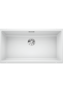 Кухонная мойка Blanco Subline 800-U Silgranit PuraDur (белый)