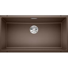 Мойка для кухни Blanco SUBLINE 800-U SILGRANIT кофе с клапаном-автоматом