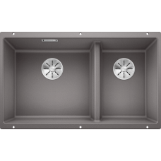 Кухонная мойка Blanco Subline 430/270-U Silgranit PuraDur (алюметаллик)