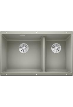 Кухонная мойка Blanco Subline 430/270-U Silgranit PuraDur (жемчужный)