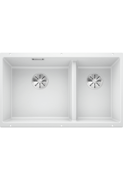 Кухонная мойка Blanco Subline 430/270-U Silgranit PuraDur (белый)