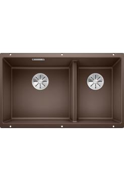 Кухонная мойка Blanco Subline 430/270-U Silgranit PuraDur (кофе)