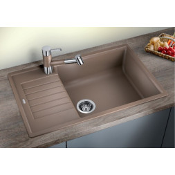 Кухонная мойка Blanco Zia XL 6S Compact Silgranit PuraDur мускат