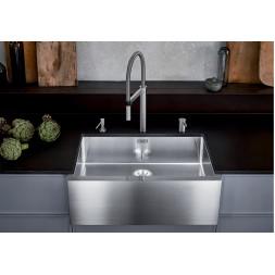 Кухонная мойка Blanco CLARON XL 8-U Нержавеющая сталь (сталь с зеркальной полировкой)
