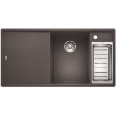 Кухонная мойка Blanco AXIA III 6 S темная скала чаша справа, разделочный столик ясень c кл.-авт. InFino®