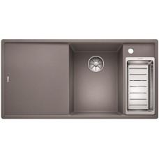 Кухонная мойка Blanco AXIA III 6 S алюметаллик чаша справа, разделочный столик ясень c кл.-авт. InFino®