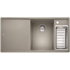 Мойка для кухни Blanco AXIA III 6 S жемчужный чаша справа, разделочный столик ясень c кл.-авт. InFino®