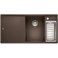 Кухонная мойка Blanco AXIA III 6 S кофе чаша справа, разделочный столик ясень c кл.-авт. InFino®