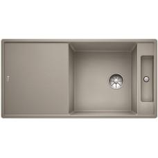 Кухонная мойка Blanco AXIA III XL 6 S жемчужный, разделочный столик ясень c кл.-авт. InFino®
