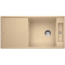 Мойка для кухни Blanco AXIA III XL 6 S шампань, разделочный столик ясень c кл.-авт. InFino®