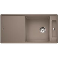 Мойка для кухни Blanco AXIA III XL 6 S серый беж, разделочный столик ясень c кл.-авт. InFino®