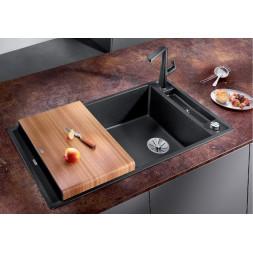 Кухонная мойка Blanco AXIA III XL 6 S кофе, разделочный столик ясень c кл.-авт. InFino®