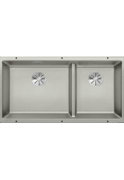 Кухонная мойка Blanco Subline 480/320-U Silgranit PuraDur (жемчужный)