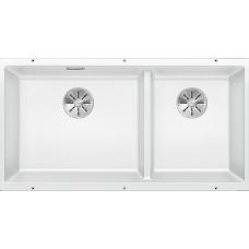 Кухонная мойка Blanco Subline 480/320-U Silgranit PuraDur (белый)