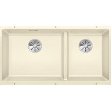 Мойка для кухни Blanco SUBLINE 480/320-U SILGRANIT жасмин с клапаном-автоматом